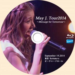 DVDラベル Mayj
