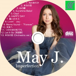 CDラベル mayj imperfection