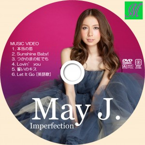 DVDラベル mayj imperfection