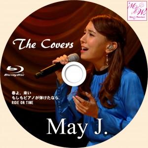 MayJ_the covers_ブルーレイラベル