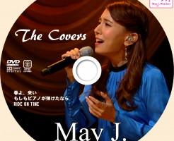 MayJ_the covers_DVDラベル