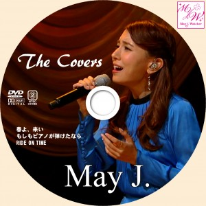 MayJ_the covers_DVDラベル