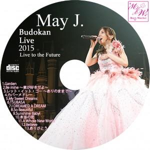 May J 武道館ライブ CDラベル