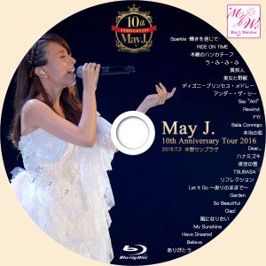 May J WOWOW Blu-ray