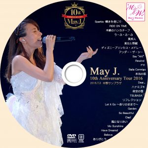 May J WOWOW DVD