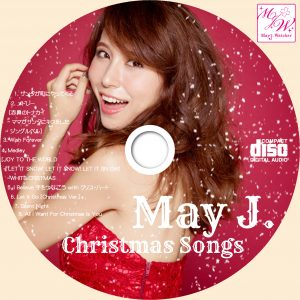 May J. Christmas Songs CDラベル